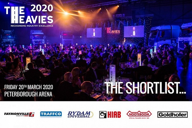 The Heavies 2020… Shortlist Announced